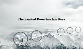 sinclair ross' the painted door a This passage is an excerpt taken from sinclair ross' the painted door in context, this quote exemplifies the protagonist, ann's, inner struggle to put.