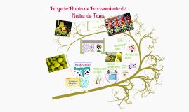Copy of Proyecto Planta de Procesamiento de Néctar de Tuna