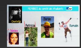 Membres de l'Association des étudiants - HEP BeJuNe