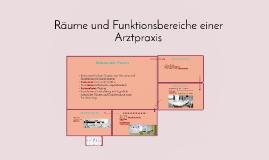 Copy of Räume und Funktionsbereiche einer Arztpraxis