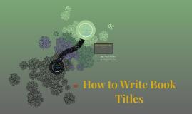 How to Write Book Titles
