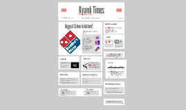 dominos pizza pestel analysis for australia Mba 508 strategic management (domino's pizza  one such master franchisee is in australia named domino's pizza  through pestel analysis and porter's five .
