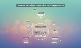 Commit to Daily Confession and Repentance