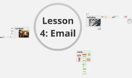 CAP 105 Lesson 4: Email