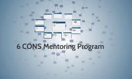 6 CONS Mentoring Program