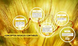 CONCEPTOS BÁSICOS CONTABLES