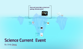 Science Current  Event