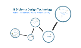 IB Diploma Design Technology