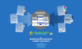 IMPLEMENTACIÓN DE UNA APLICACIÓN WEB PARA LA EXHIBICIÓN Y VE