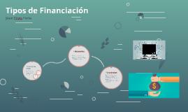 Tipos de Financiacion