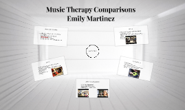 Music Therapy Comparisons
