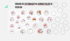 Copy of CUIDADO DE ENFERMAGEM NA ADMINISTRAÇÃO DE INSULINA