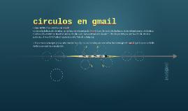 circulos en gmail