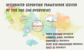 Integrated Reporting Framework