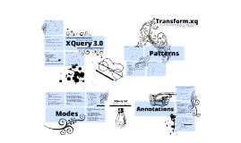 Transform.xq: A transformation library for XQuery 3.0