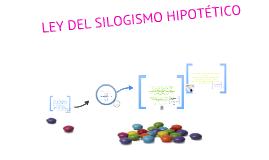Copy of Ley del Silogismo hipotético