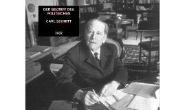 Der Begriff des Politischen - Carl Schmitt