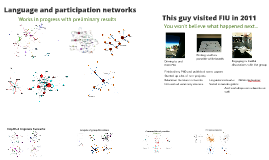 Blended networks in physics education research