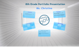 8th Grade Portfolio Presentation Example