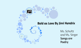 Copy of Copy of Bold as Love by Jimi Hendrix