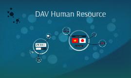 DAV Human Resource