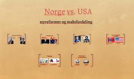 Norge vs. USA