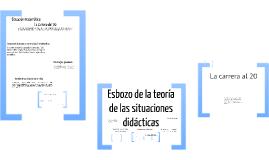 Copy of Teoría de las situaciones didácticas