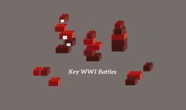 Key WWI Battles