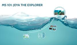JOYA THE EXPLORER