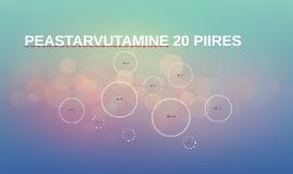 PEAST ARVUTAMINE 20 PIIRES