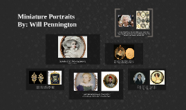 Miniature Portraits