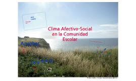 Clima Afectivo y Social