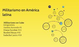Militarismo en América latina