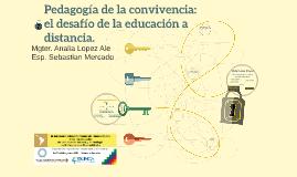 Pedagogía de la convivencia: el desafío de la educación a di