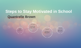Steps to Stay Motivated in School