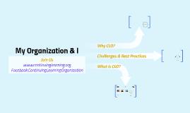 My Organization & I