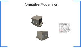 Informative Modern Art