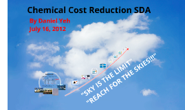 Chemical Cost Reduction SDA