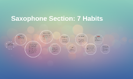 Saxophone Section: 7 Habits