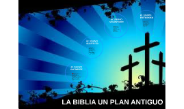 LA BIBLIA UN PLAN ANTIGUO