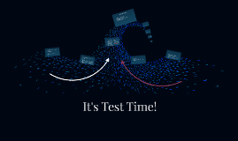 It's Test Time!