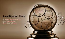 La obligación Fiscal