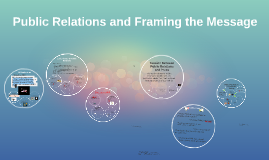 Copy of Public Relations and Framing the Message