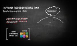 INFORME IMPORTACIONES 2015