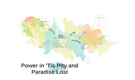 Power in 'Tis Pity and Paradise Lost