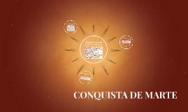 CONQUISTA DE MARTE