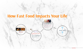 How Fast Food Impacts Your Life Negativly