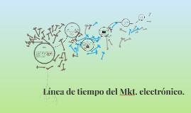 Línea de tiempo del Mkt. electrónico.