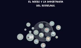 EL ACERO Y LA IMPORTANCIA DEL RECICLADO