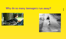 Teenagers Run Away